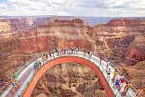 Walk a Glass Bridge Over the Grand Canyon