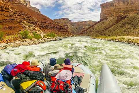 River Rafting Through Grand Canyon